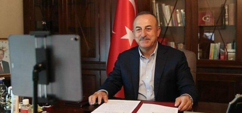 DIŞİŞLERİ BAKANI ÇAVUŞOĞLU'NDAN 'AYASOFYA' TEPKİSİ
