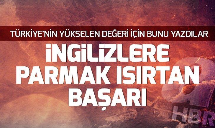 İNGİLİZLER, TÜRK HAVA YOLLARI'NIN BAŞARISINI KONUŞUYOR