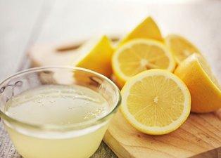 Kilo vermek isteyenler dikkat! Limon diyetiyle ayda 10 kilo vermek mümkün...