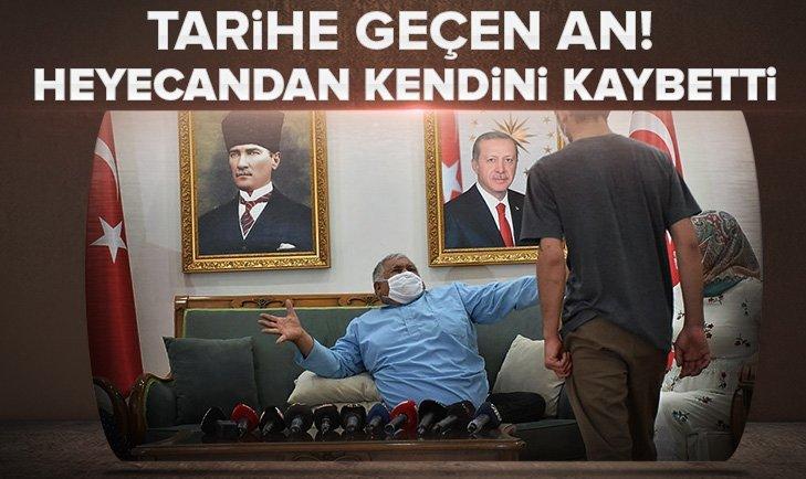 Diyarbakır'da tarihi an!