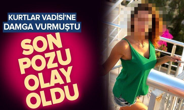 KURTLAR VADİSİ'NE DAMGA VURMUŞTU! SON POZU OLAY OLDU