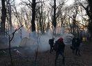 Yunanistan insanlık suçuna devam ediyor! Sığınmacılara gaz bombalarıyla müdahale ettiler
