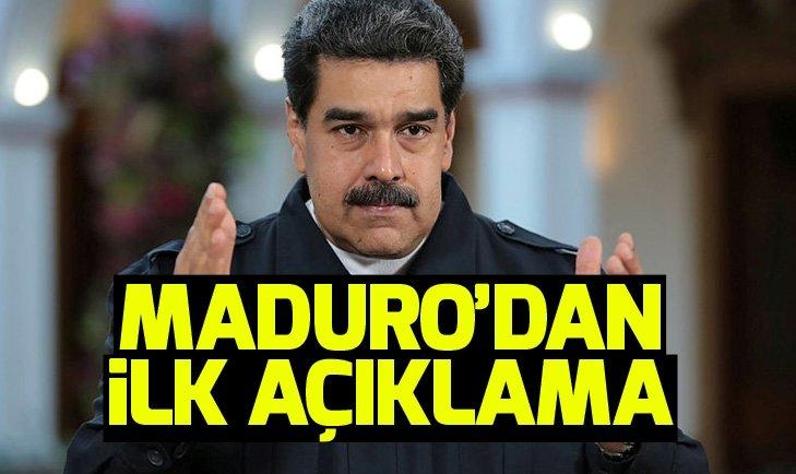 Maduro'dan darbe girişimiyle ilgili açıklama