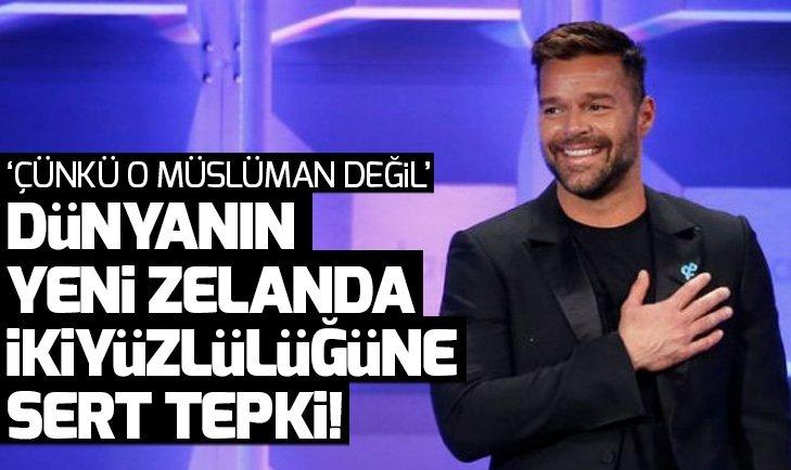 Ricky Martin'den Yeni Zelanda'daki cami saldırısına ve dünya medyasına tepki