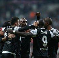 Beşiktaş - Adanaspor karşılaşmasından kareler