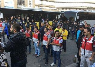 Fenerbahçe taraftarı gözaltına alındı