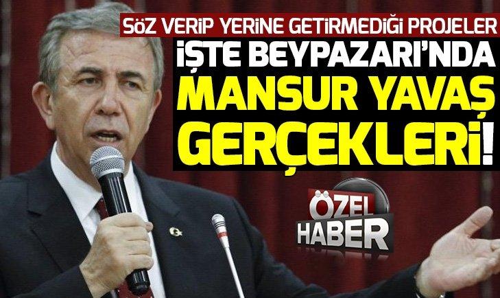 YAVAŞ 10 YILDA 55 PROJE SÖZÜ VERDİ AMA TUTMADI!