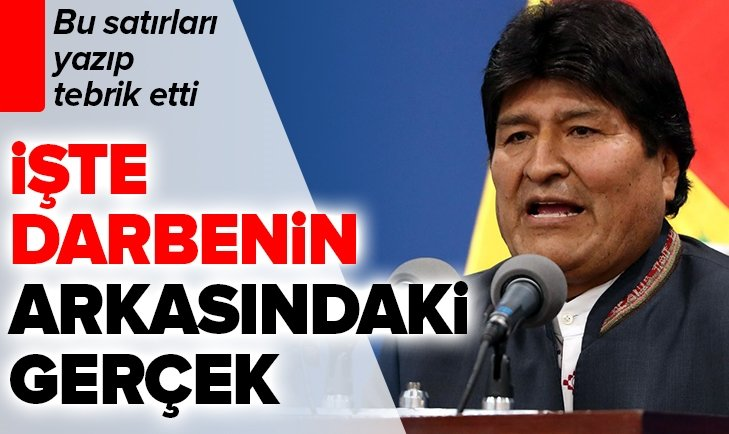 BOLİVYA'DAKİ DARBENİN PERDE ARKASINDAKİ MADEN!