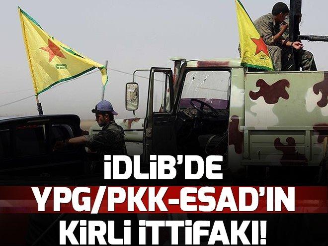 İDLİB'E KARŞI ESAD-YPG/PKK İTTİFAKI