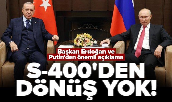 Rusya'da kritik zirve! Başkan Erdoğan: Attığımız adımlardan geri dönmemiz mümkün değil