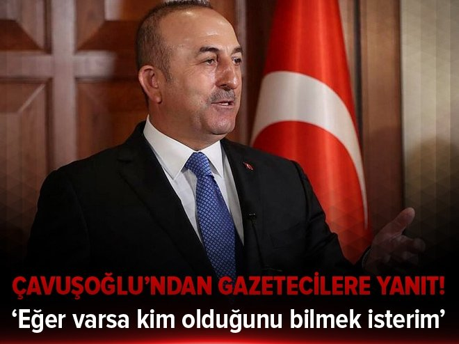 'EĞER VARSA KİM OLDUĞUNU BİLMEK İSTERİM'