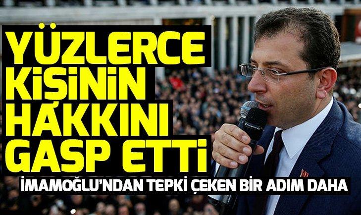 CHP'li Ekrem İmamoğlu'nun skandallarının ardı arkası kesilmiyor! İmamoğlu şimdi de...