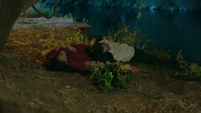 Reyyan vurulan Miran'ı kurtarıyor!