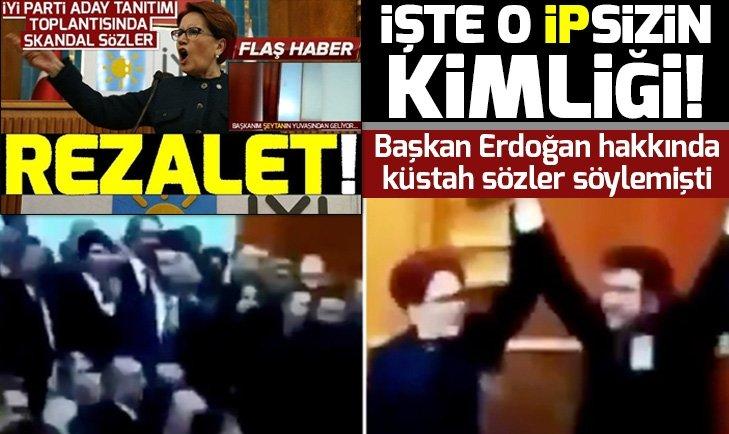 Küstah sözlerin sahibi İYİ Partili Oğuzhan Mamati isimli şahıs çıktı