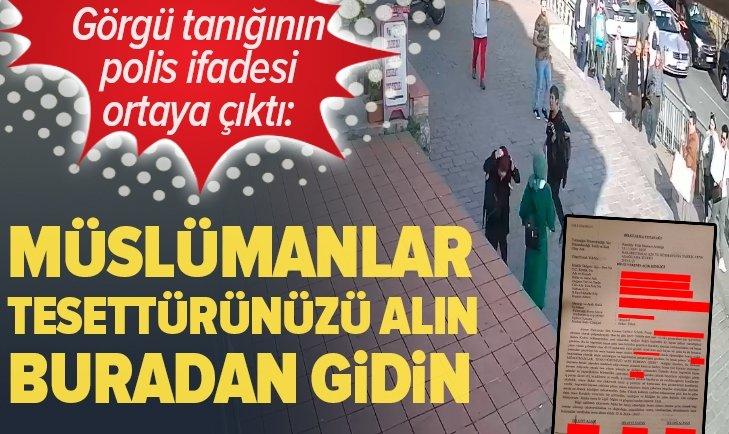 Karaköy'deki çirkin saldırıda bilgi alma tutanağı ortaya çıktı