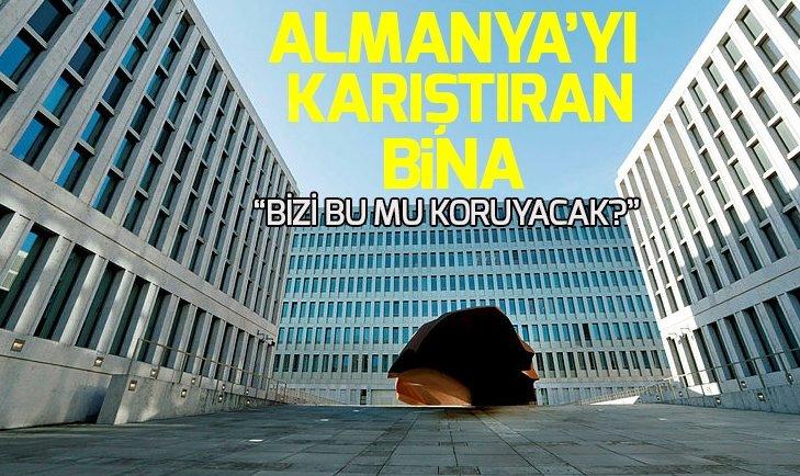 ALMANYA'YI KARIŞTIRAN BİNA!
