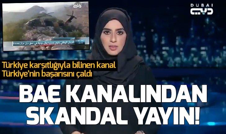 DUBAİ TV'DEN SKANDAL YAYIN!