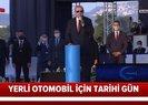 Başkan Erdoğandan yerli otomobil için tarihi adım! Bursada Gemlikte fabrikanın temeli atıldı