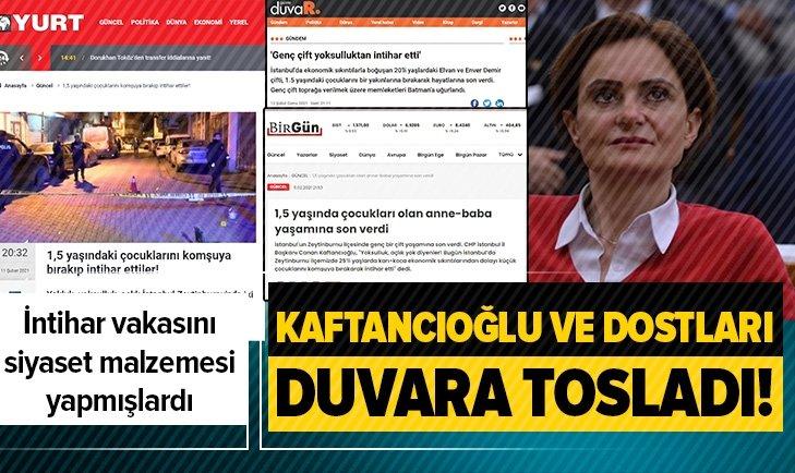 CHP'nin kara propagandası elinde patladı!