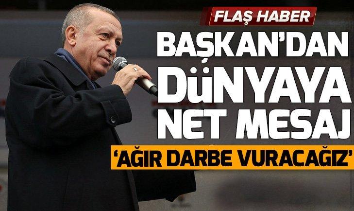 Başkan Erdoğan'dan Suriye ve S400 açıklaması