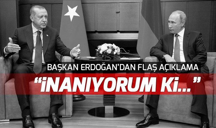 Erdoğan-Putin zirvesi sona erdi! İşte Erdoğan ve Putin'in ilk mesajları...