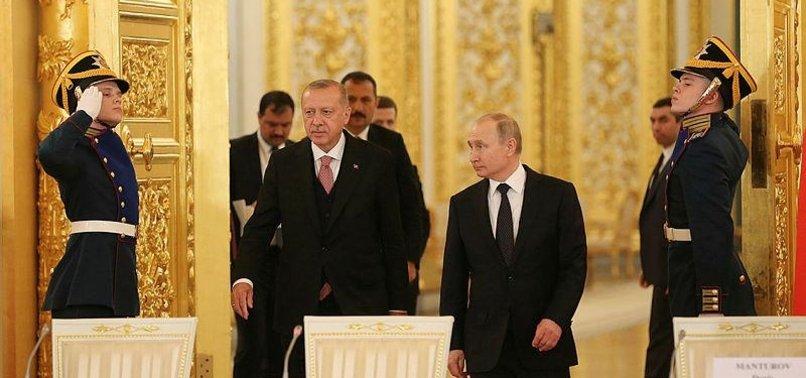 ERDOĞAN-PUTİN GÖRÜŞMESİ RUS MEDYASINDA GENİŞ YER BULDU