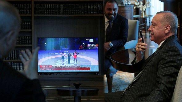 Başkan Erdoğan zaferi böyle takip etti