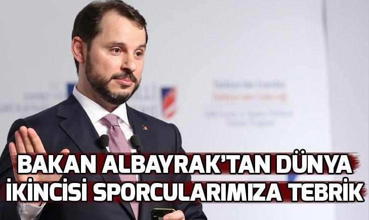 BAKAN ALBAYRAK'TAN AMPUTE MİLLİ FUTBOL TAKIMI'NA TEBRİK