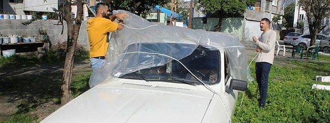 Düğünü için 1978 model otomobili limuzine dönüştürdü