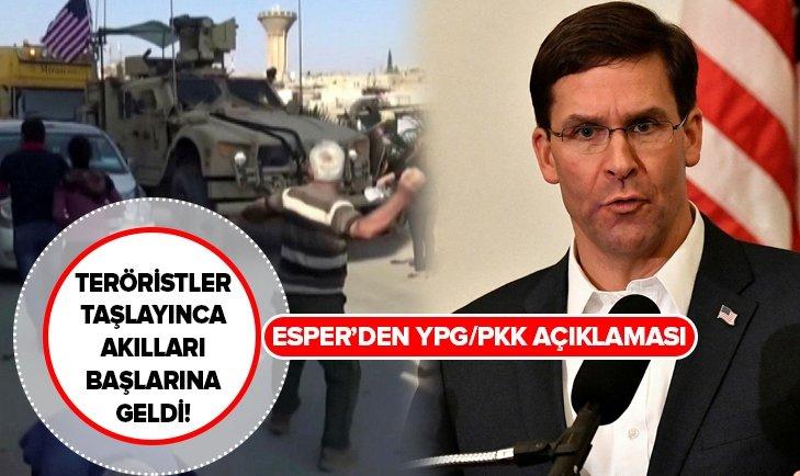ABD'DEN FLAŞ AÇIKLAMA: YPG/PKK'YI SAVUNMAK ÜZERE GÖREVLENDİRİLMEDİK