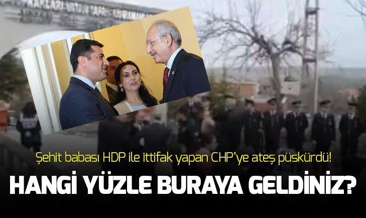 15 Temmuz darbe girişiminde şehit olan Cennet Yiğit'in babasından CHP'lilere tokat gibi sözler: Hangi yüzle buraya geldiniz?