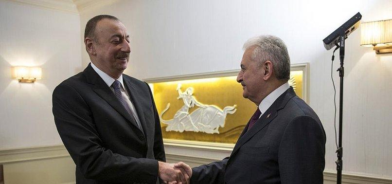YILDIRIM: AZERBAYCAN'IN TUTUMU TAKDİRE ŞAYAN