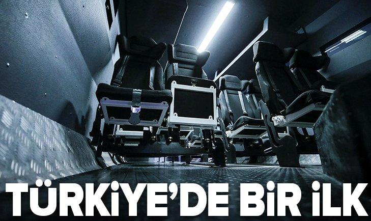 TÜRKİYE'DE BİR İLK!