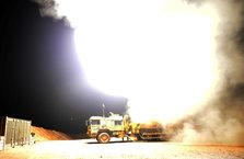 Afrin'de teröristlerin petrol rafinerisi imha edildi