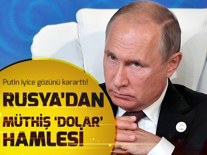 RUSYA GÖZÜNÜ KARARTTI! MÜTHİŞ DOLAR HAMLESİ