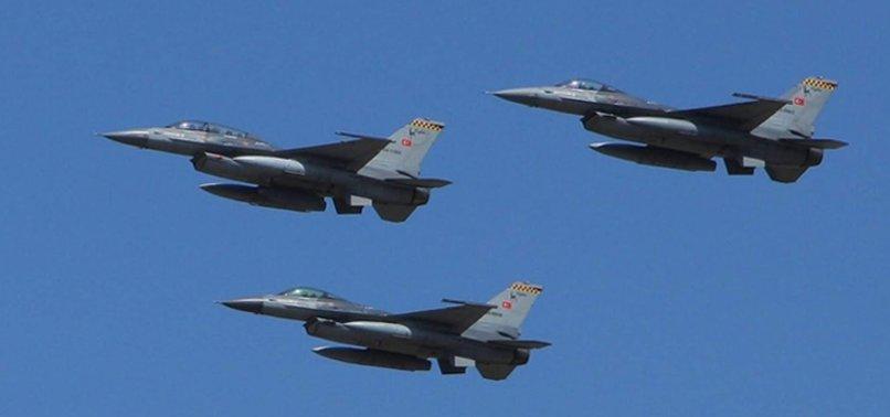TÜRK F-16'LARI SURİYE HAVA SAHASINDA