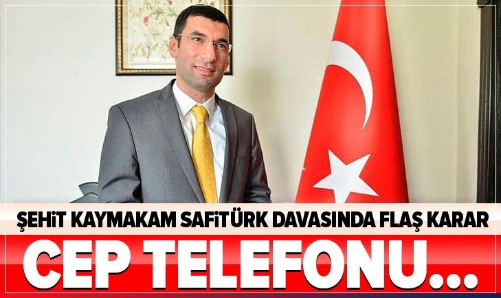 KRİTİK DAVADA ÖNEMLİ GELİŞME! CEP TELEFONU...