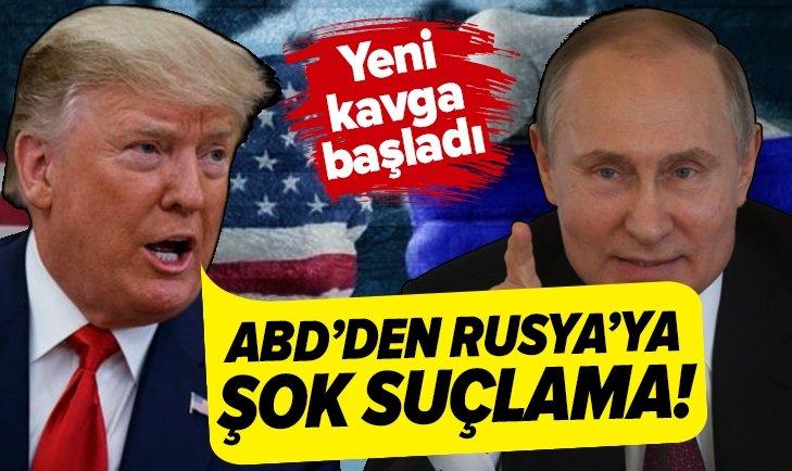 ABD'DEN RUSYA'YA HIRSIZLIK SUÇLAMASI