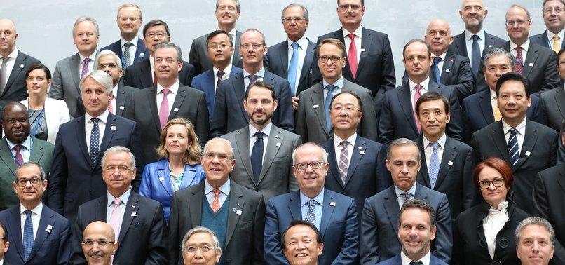 BAKAN ALBAYRAK'TAN G-20 MESAJI