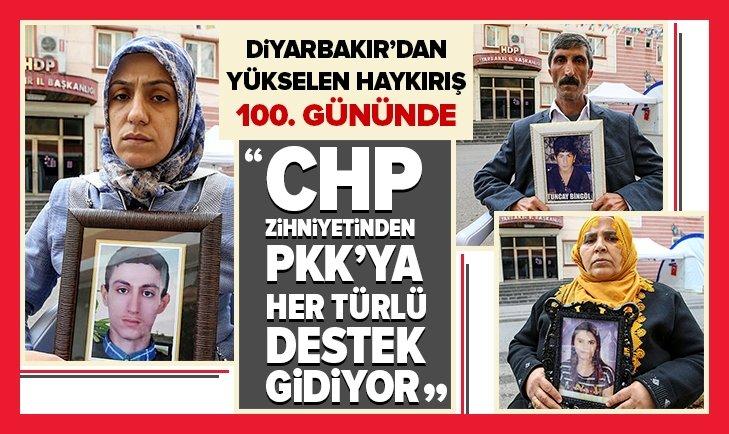 DİYARBAKIR'DAKİ EVLAT NÖBETİNDE 100. GÜN!