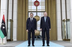 Başkan Erdoğan, Libya Başbakanı ile görüştü