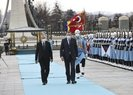 Ankara'ya kritik ziyaret! Başkan Erdoğan'dan resmi karşılama