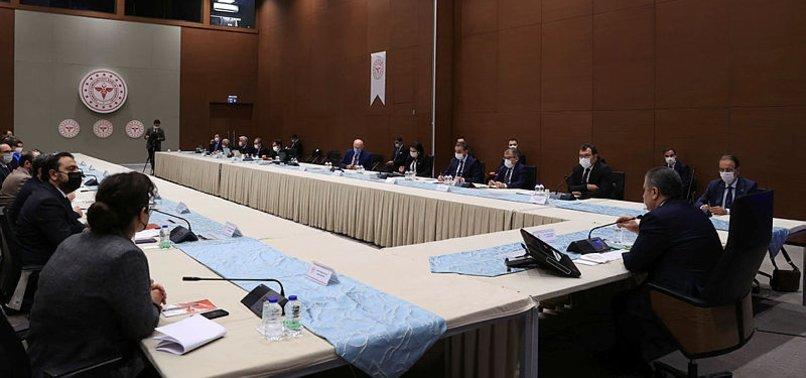 Sağlık Bakanı Fahrettin Koca'dan yerli aşı müjdesi! Yerli Aşı Ortak Çalışma Grubu toplantı