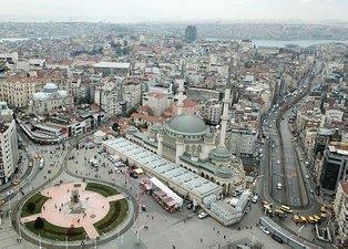 Taksim'deki Atatürk Kültür Merkezi ve Taksim Cami tamamlanmak üzere! Son durum havadan görüntülendi