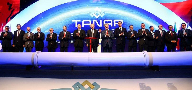 AZERBAYCAN'DAN TANAP'A ÖDÜL