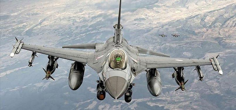 F-16'LARIMIZDAN FIRAT'IN DOĞUSUNDA YENİ UÇUŞ
