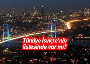 İsviçre vatandaşlarına 29 ülke için kısıtlama getirdi! Türkiye İsviçre'nin listesinde var mı?