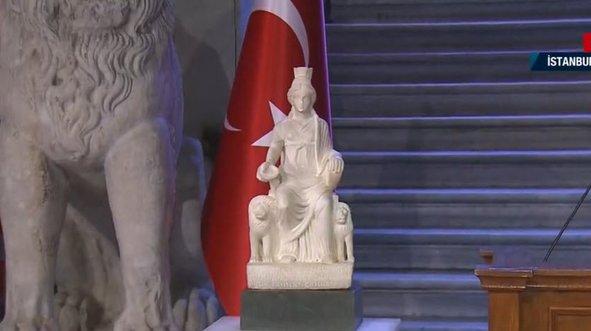 Kybele Heykeli Türkiye'de