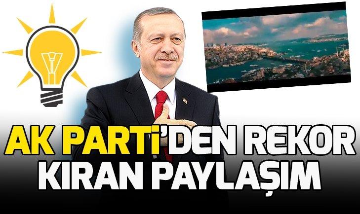 AK PARTİ'DEN İZLENME REKORLARI KIRAN VİDEO!