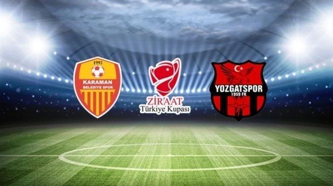 Karaman Belediyespor 1-0 Yozgatspor 1959